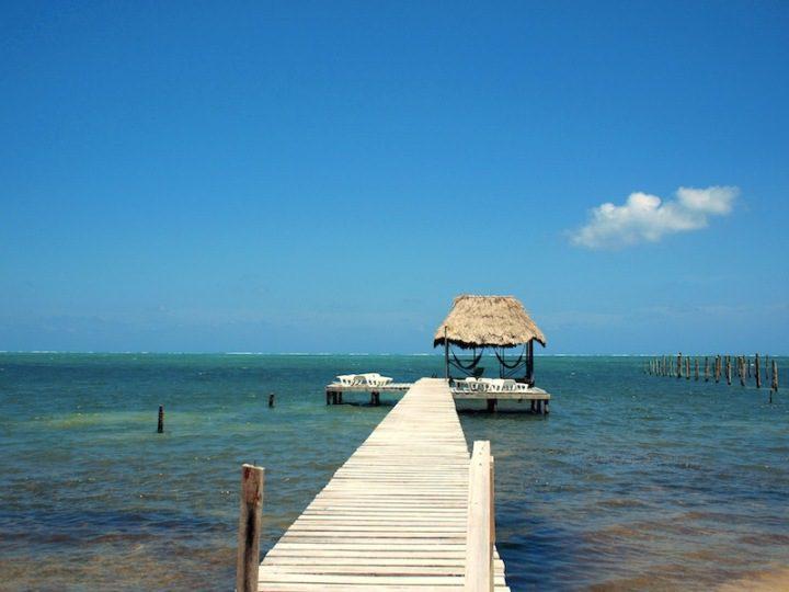 Caye Caulker Barefoot Beach Belize