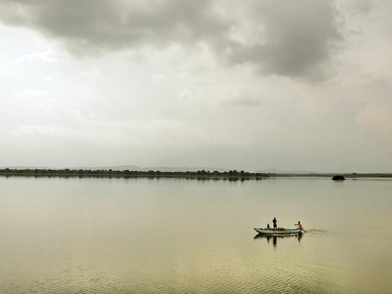Lake in Sri Lanka