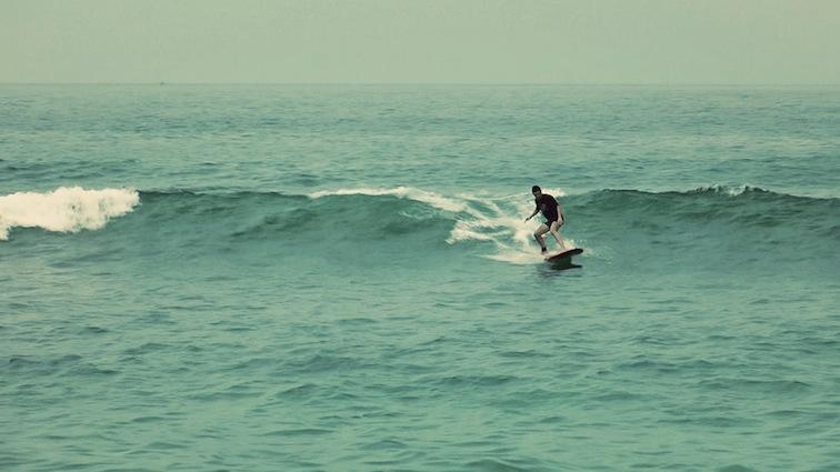 Moi surfing Carrizalillo