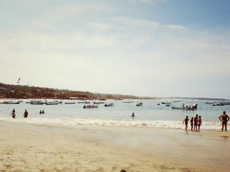 Playa Principal, Puerto Escondido