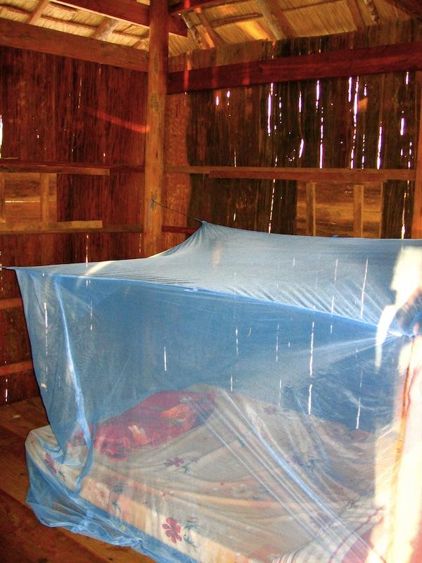 Koh Rong hut mattress