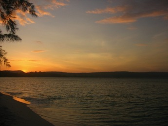 Koh Rong sunset