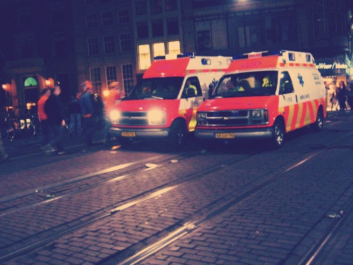 Amsterdam ambulances