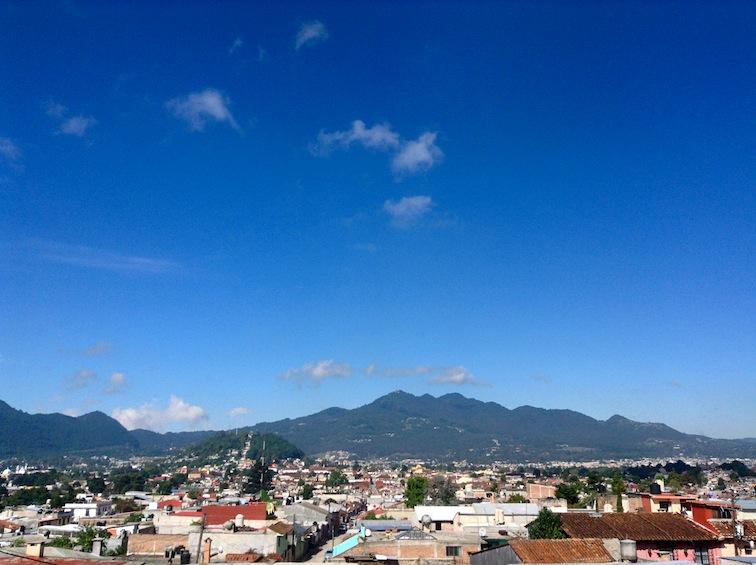 View from Casa de la Vista