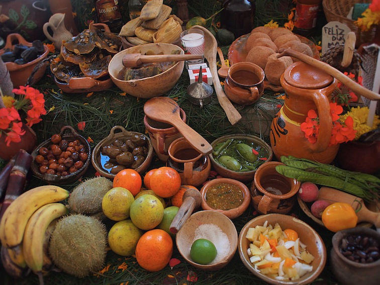 day of the dead altar san cristobal mexico