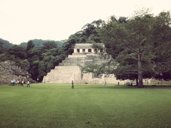 Temple of Inscriptions in Palenque