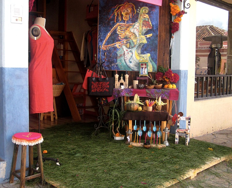 day of the dead san cristobal mexico