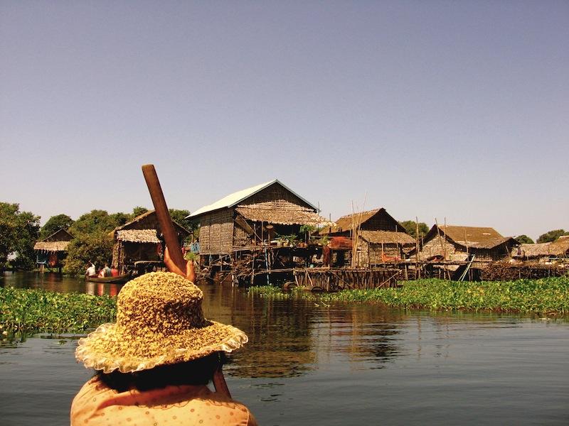 Arriving Kompong Phluk