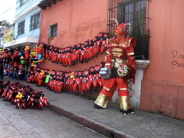 Devils in Guatemala City