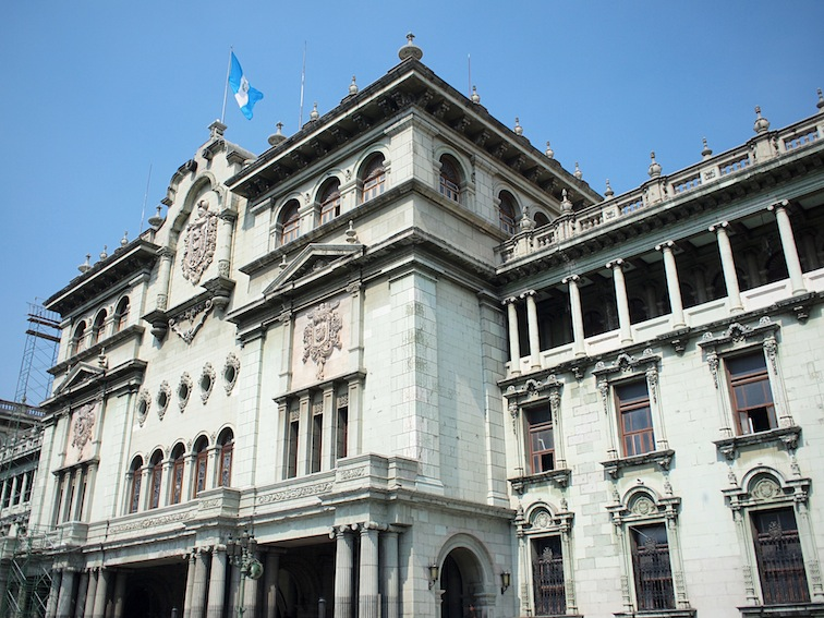 Palacio Nacional in Guatemala City