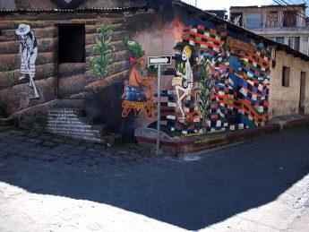 Graffiti San Pedro La Laguna