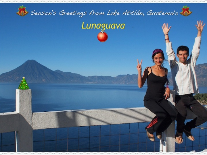 Christmas card from Guatemala