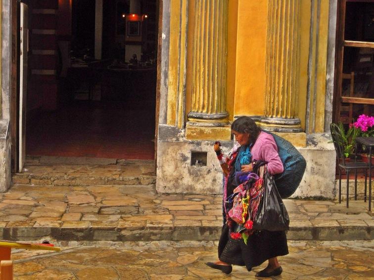 Lady in San Cristobal