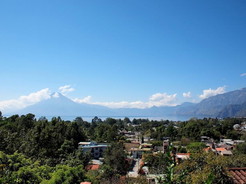 View from Maya Traditions Herbal Medicine Garden