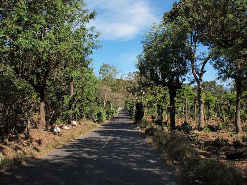 Road to Santiago Atitlán