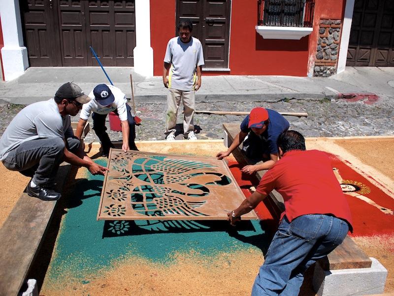 Alfombra Antigua Guatemala