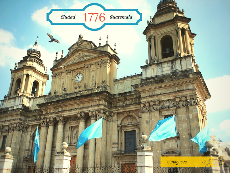Ciudad Guatemala postcard