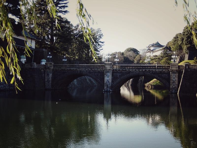 Nijūbashi double-bridge and Imperial Palace