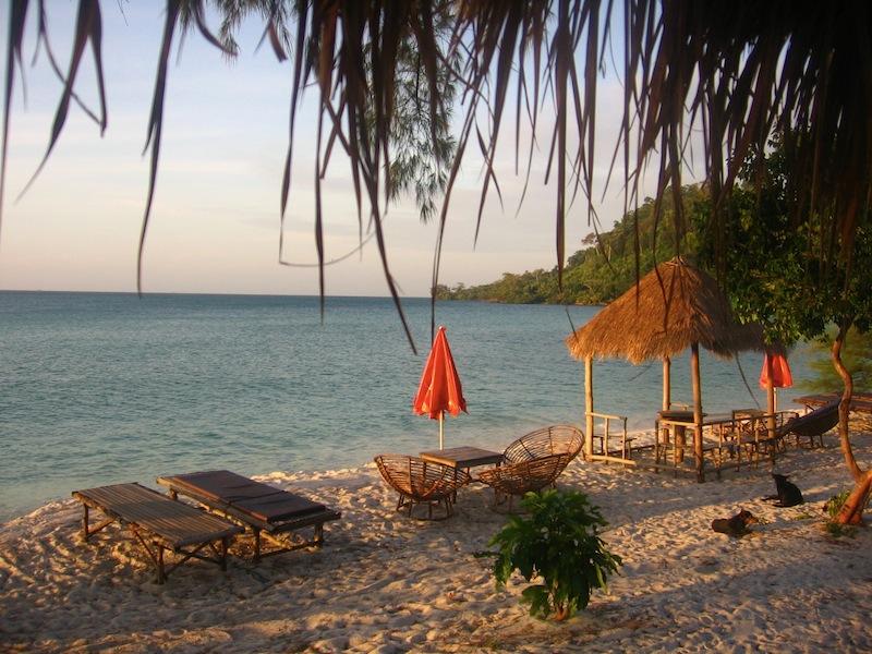 Koh Rong beach Cambodia