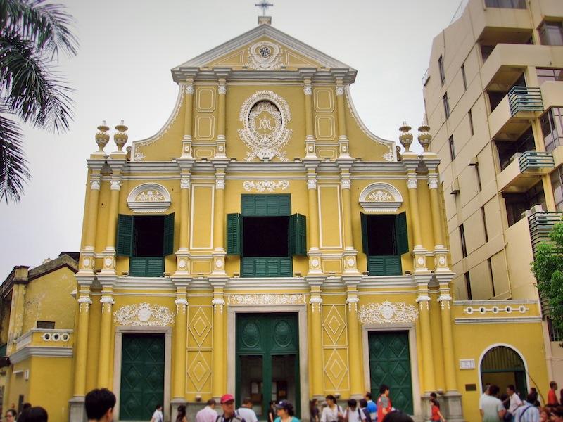 Macau St Dominic's church