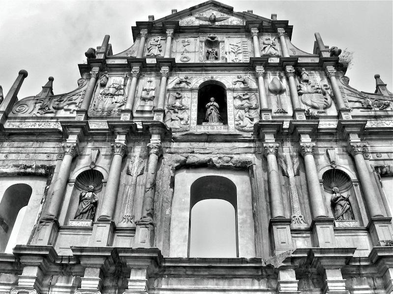 Macau St. Paul's Cathedral