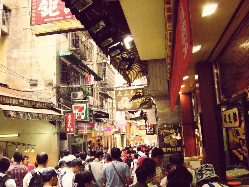 Macau historical center