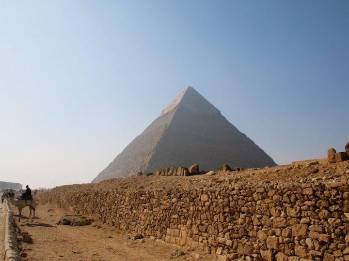 Great Pyramid of Khafre Cairo Egypt