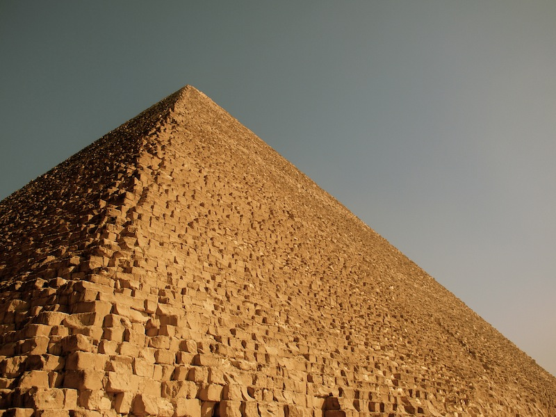 Great Pyramid of Khufu Cairo Egypt