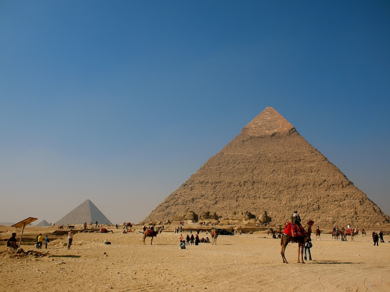 The Pyramid of Khafre Egypt