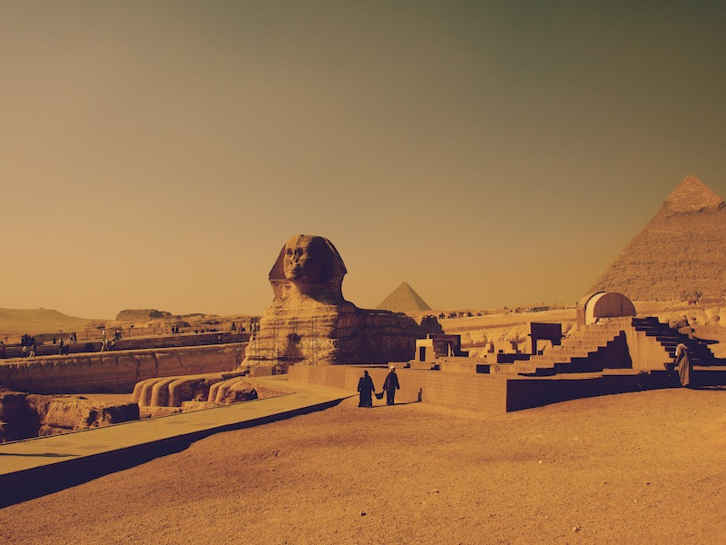 The Great Sphinx Cairo Egypt