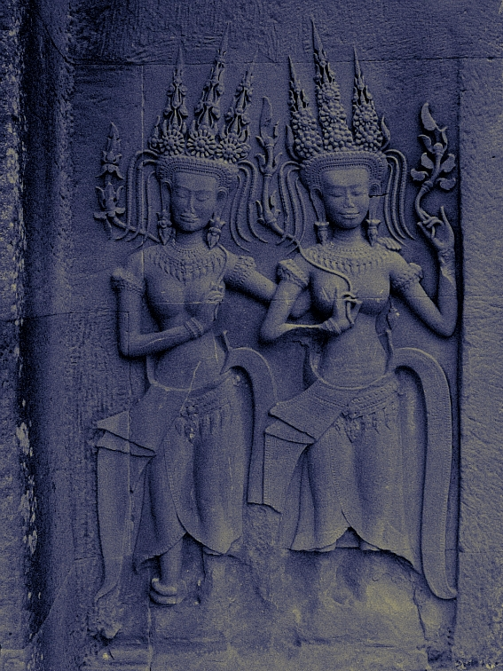 apsaras angkor wat cambodia