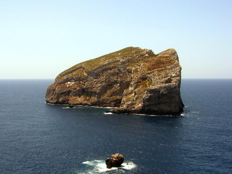 Isola Foradada Sardinia Italy