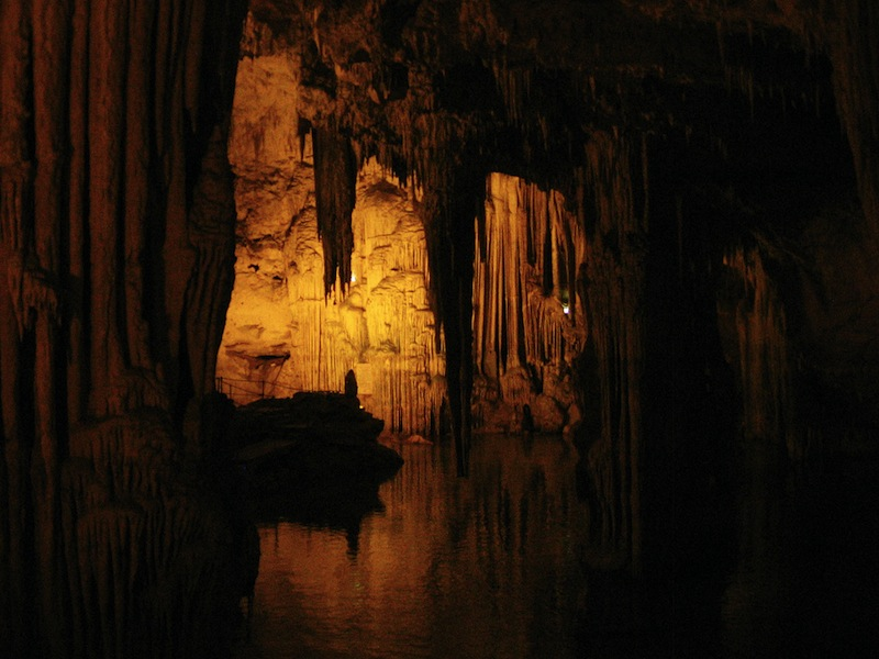 Neptune's Grotto Sardinia Italy