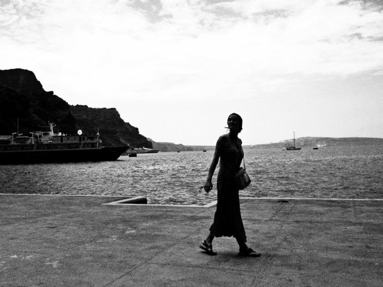 santorini old port