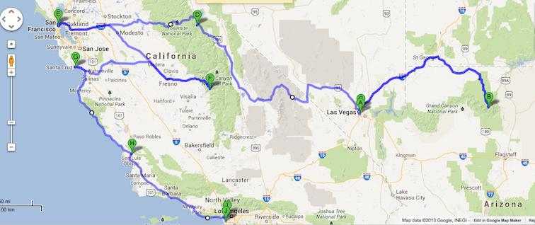 Road Trip USA (close)