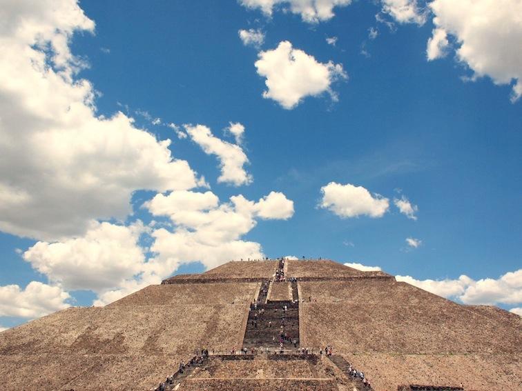 teotihuacán pyramid of the sun