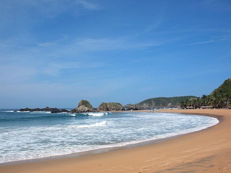 San Agustinillo beach mazunte mexico