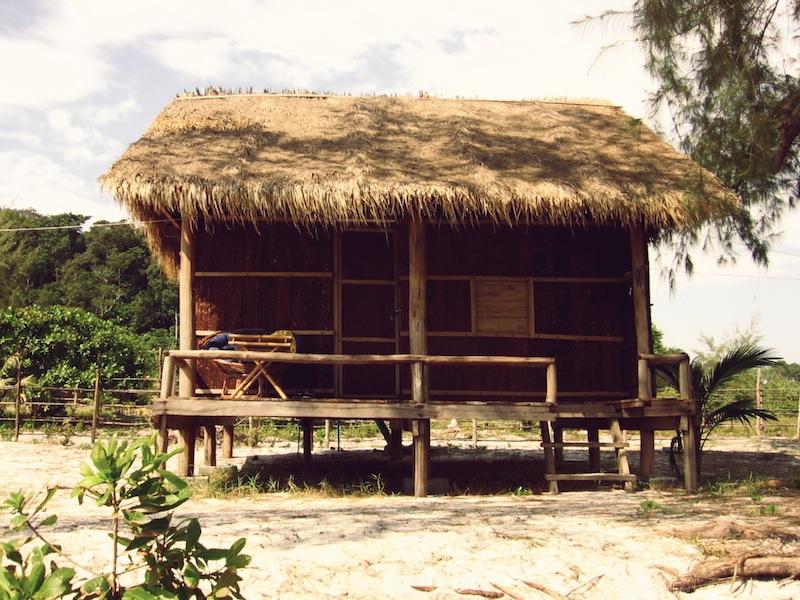 Koh Rong hut Cambodia