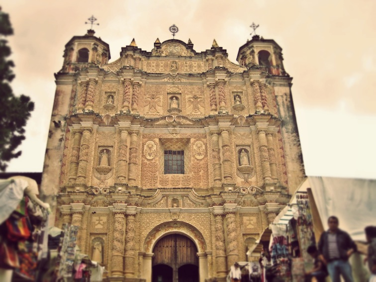 Santo Domingo church san cristóbal de las casas chiapas mexico