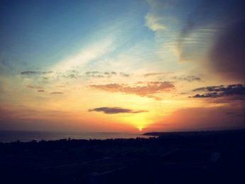 Sunset at Casa Puente