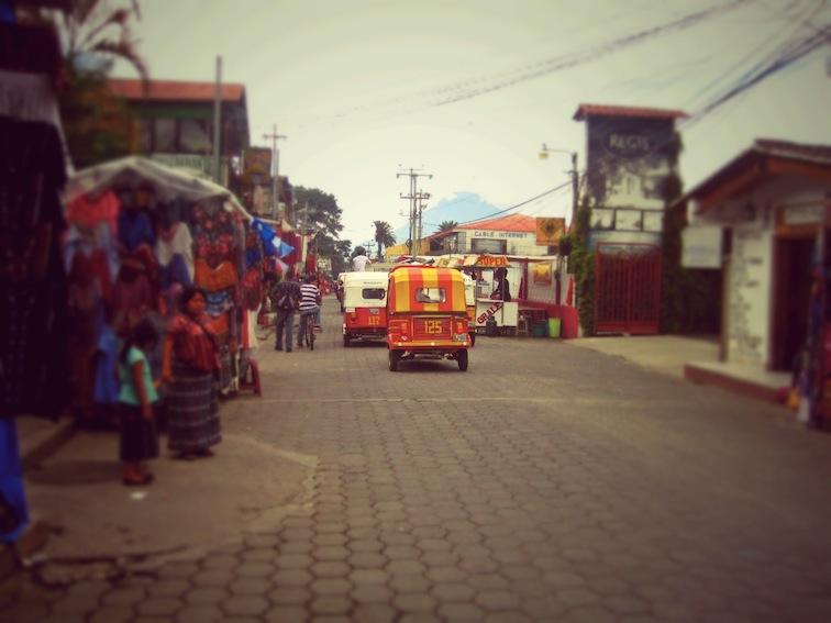Panajachel Calle Santander