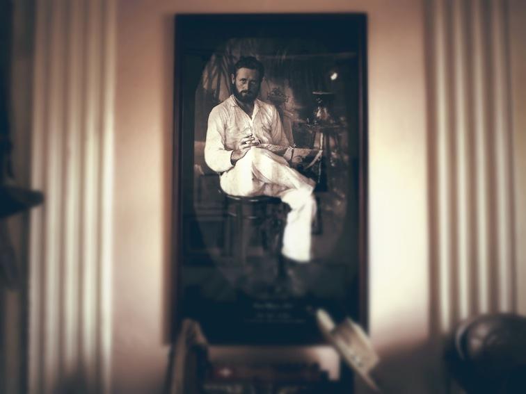 Portrait of Frans Blom at Casa Na Bolom