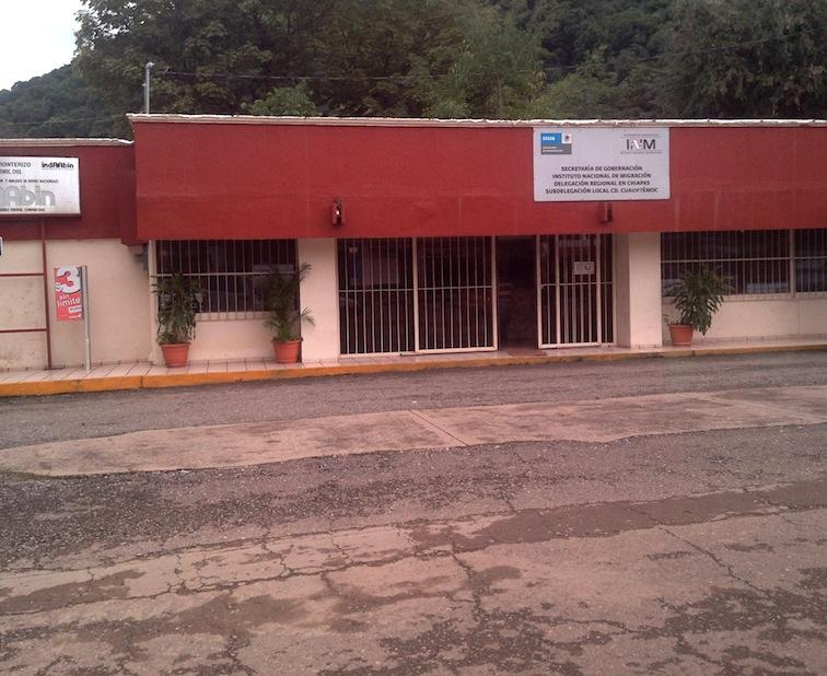 border mexico to guatemala