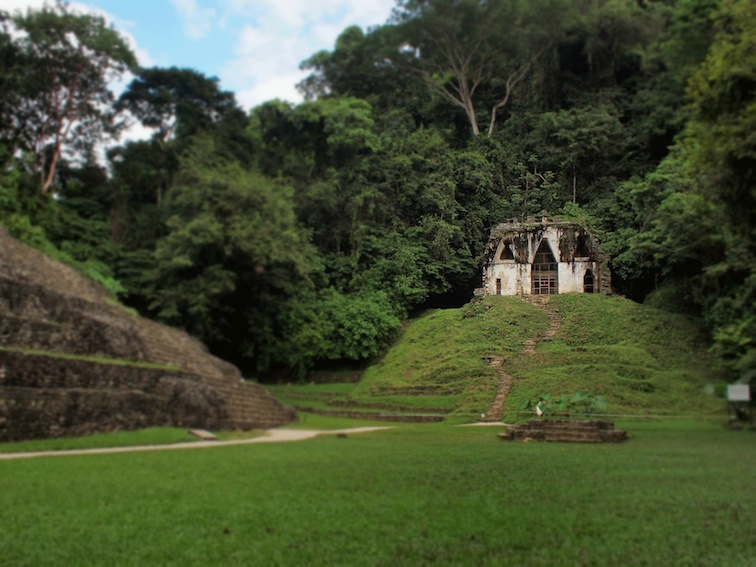 Palenque Temple of the Foliated Cross