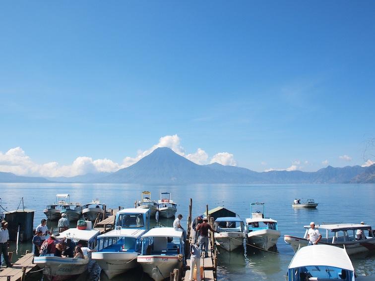 Panajachel dock