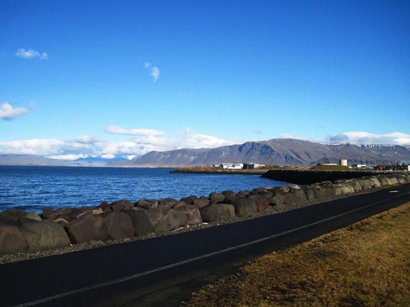 Reykjavík shore Iceland