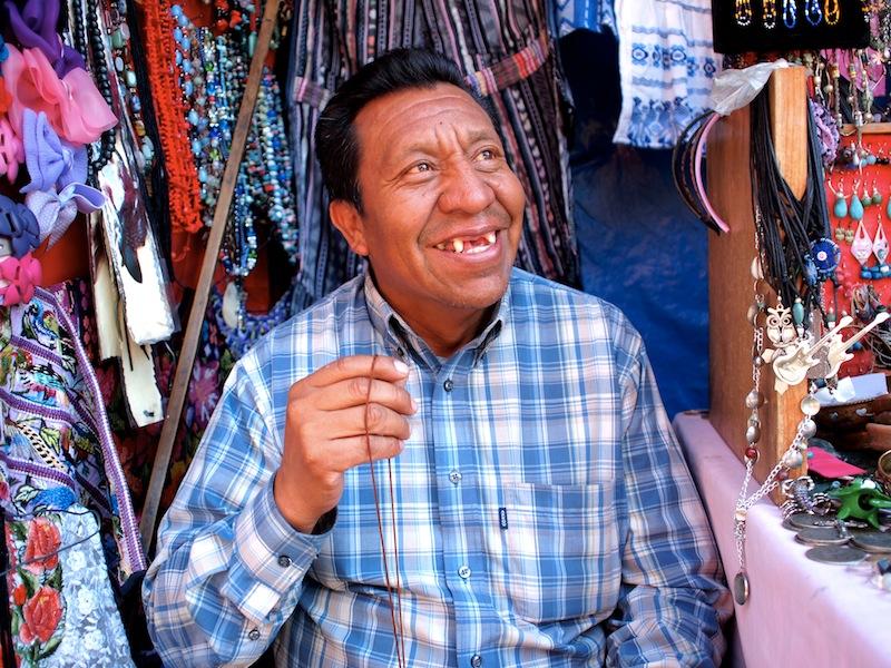Merchant in Panajachel