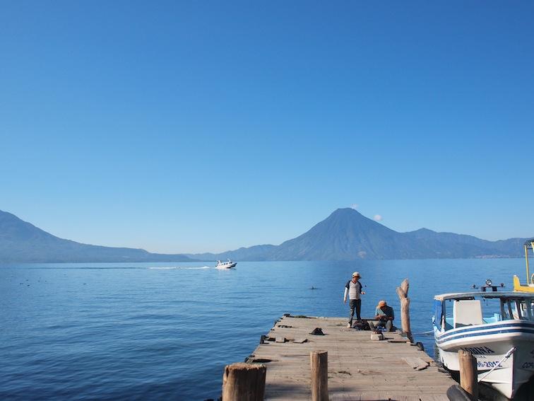Dock by Lake Atitlán