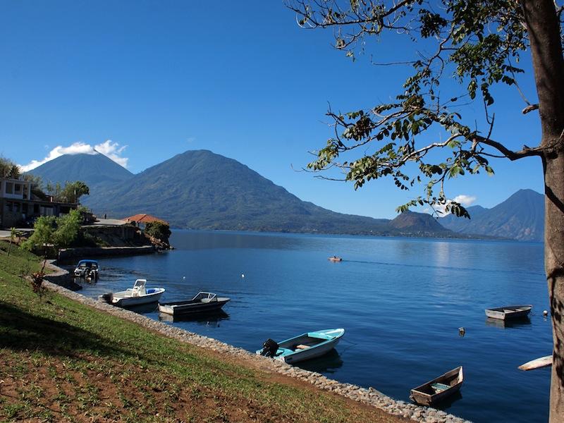 Lake Atitlán from San Antonio Palopó