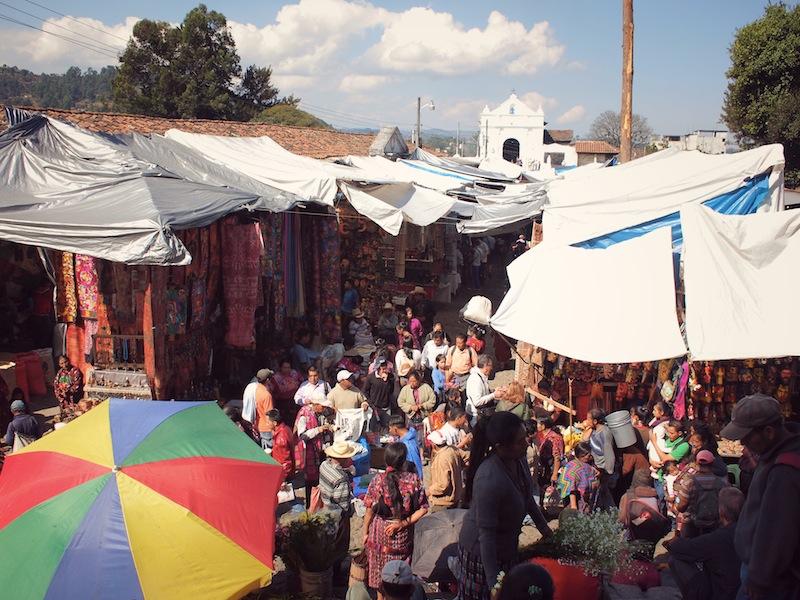 El Calvario viewed from Santo Tomás